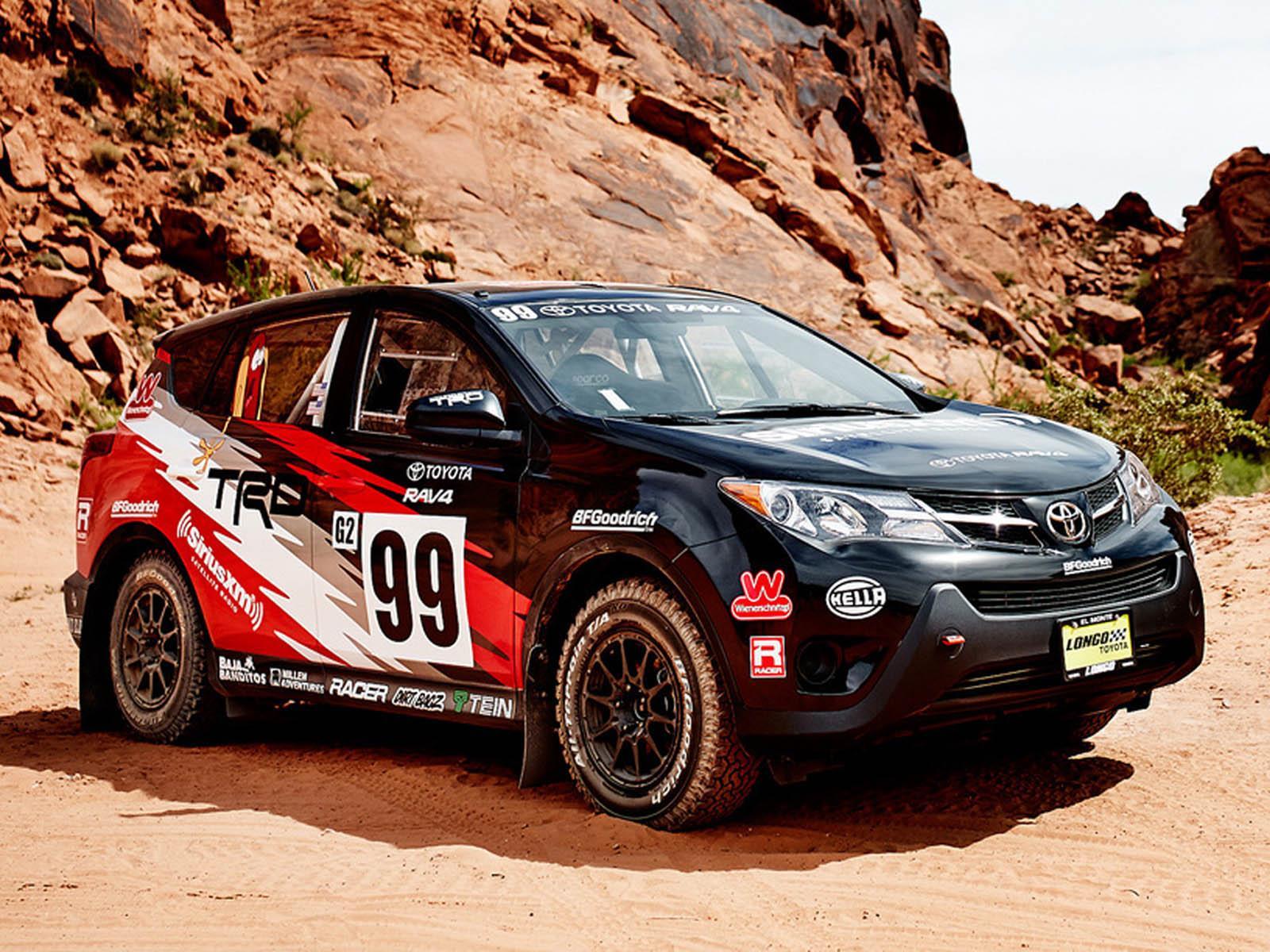 Toyota RAV4 Rally, lista para el offroad - Autocosmos.com