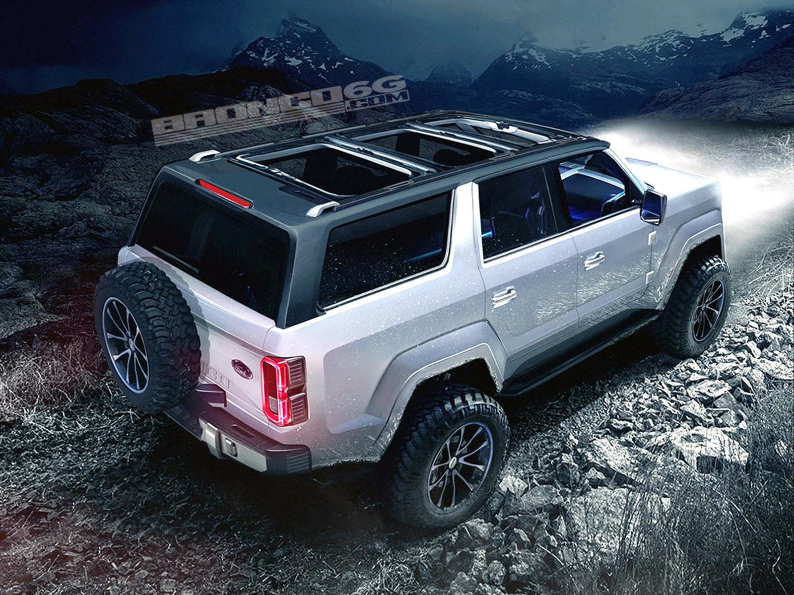 El Ford Bronco 2020 Ya Tiene Simulaciones Autocosmos Com
