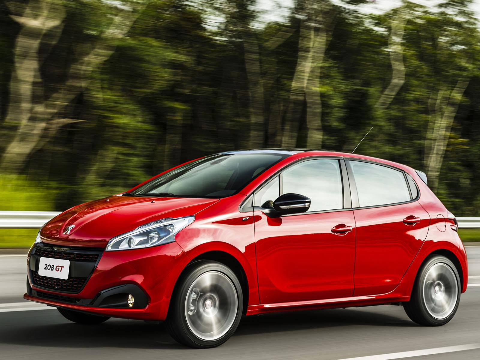 lanzamiento nuevos peugeot 208 y 208 gt en argentina. Black Bedroom Furniture Sets. Home Design Ideas