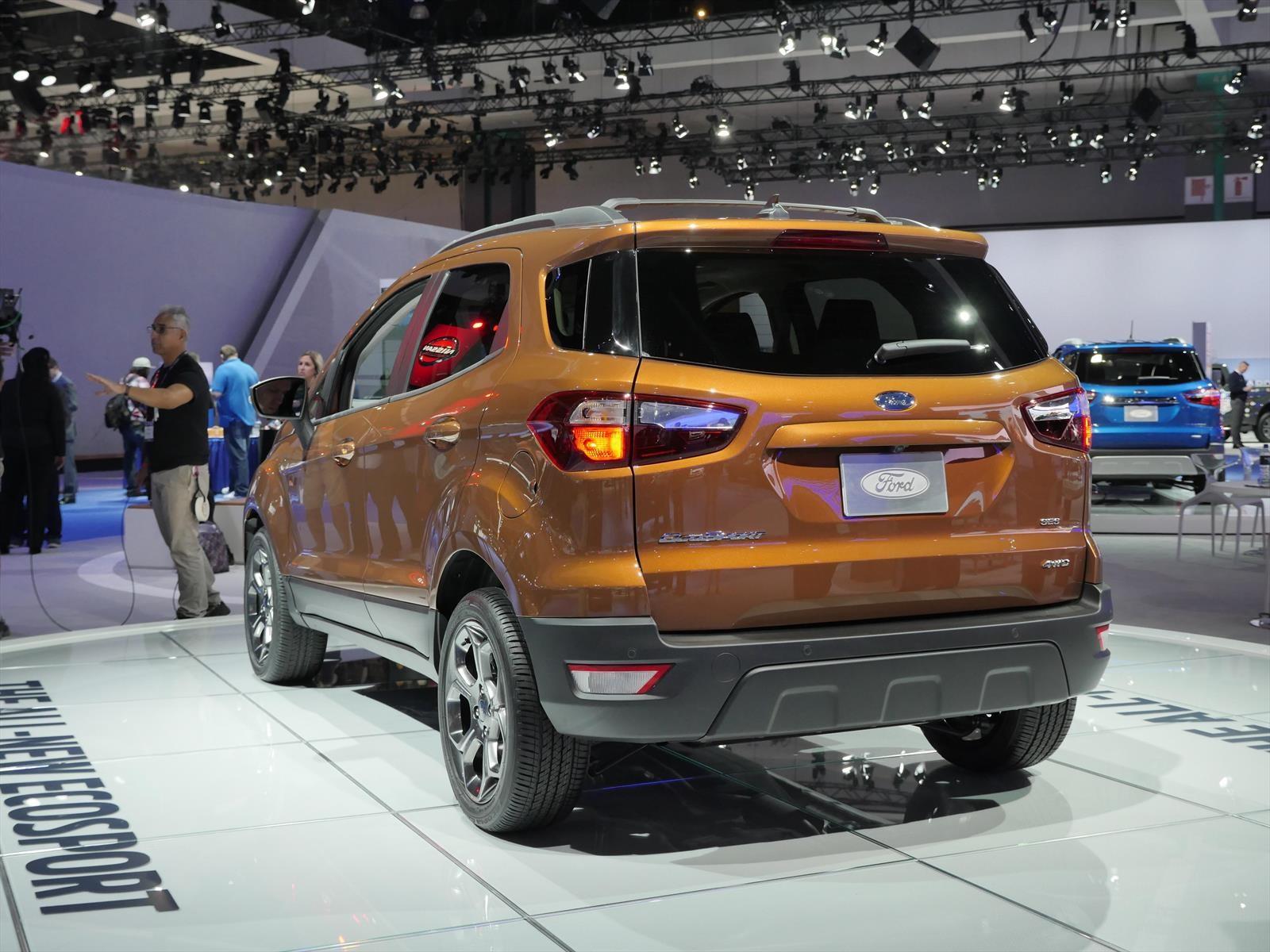 Auto Show de Los Ángeles 2016 - Ford Ecosport 2018, la