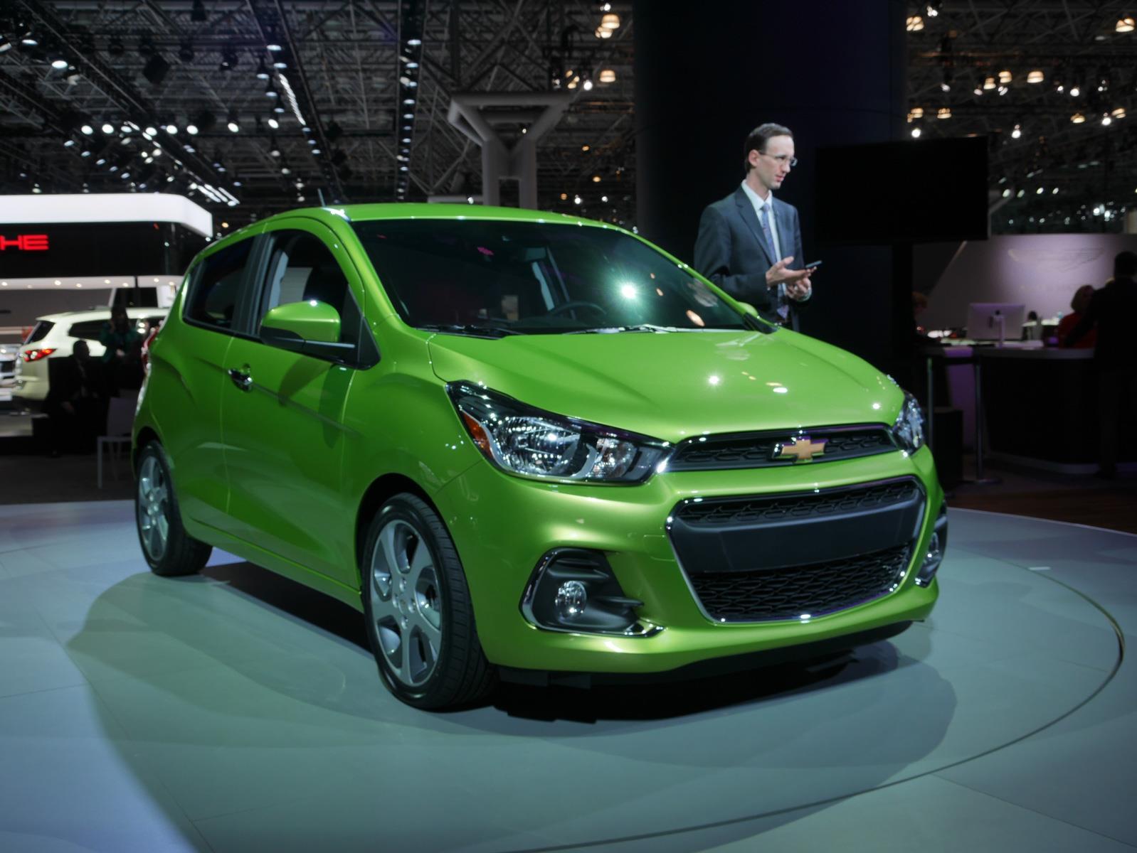 Auto Show de Nueva York 2015 - Chevrolet Spark 2016 ...