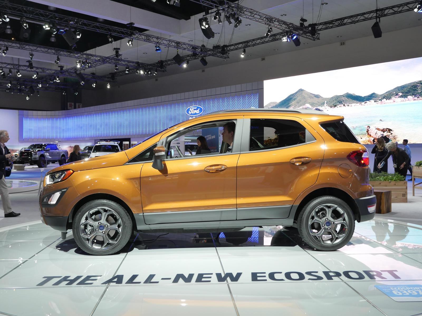 Auto Show De Los 193 Ngeles 2016 Ford Ecosport 2018 La