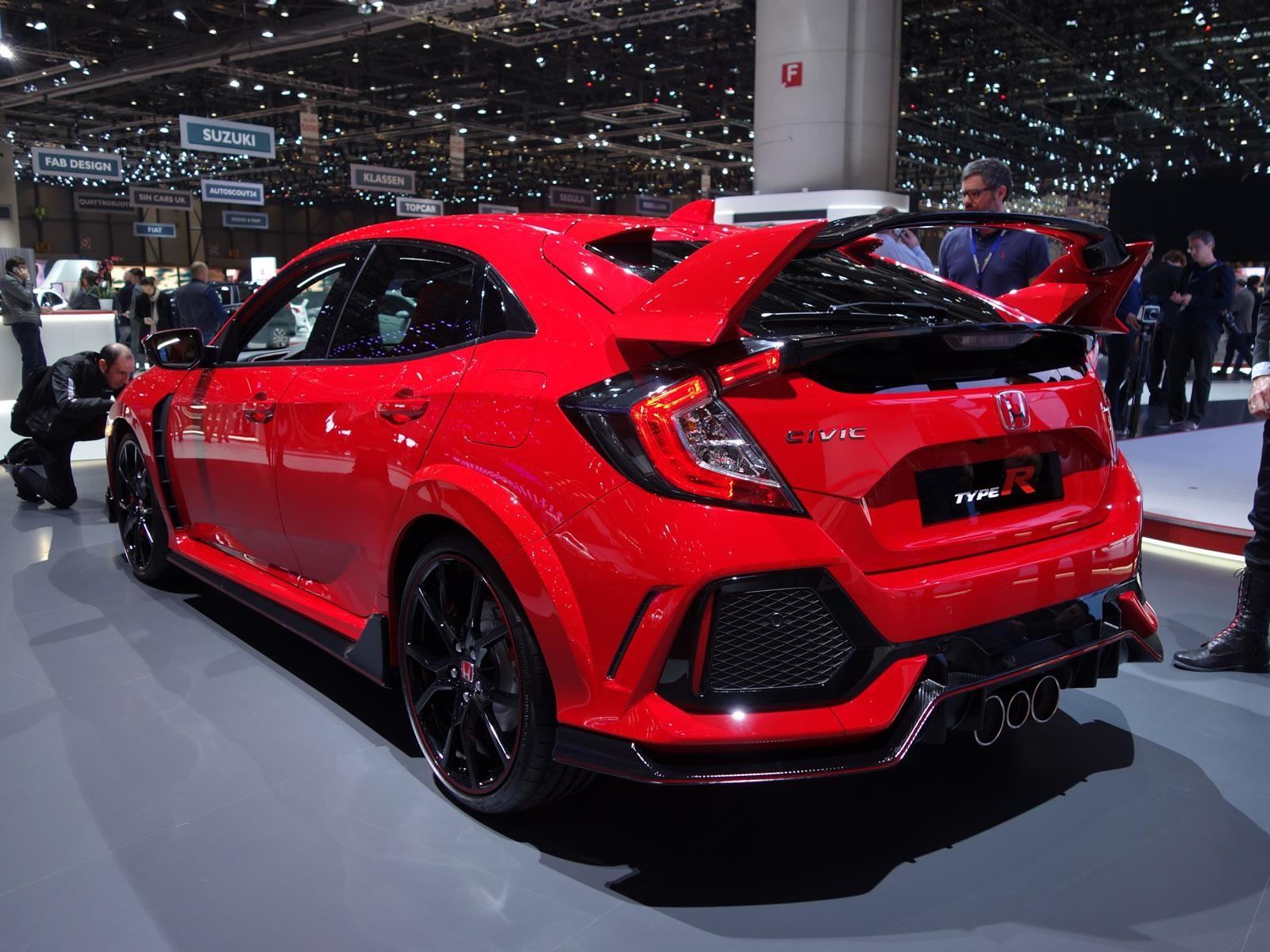 Honda Civic Type R 2018, el deportivo de tracción delantera más veloz de Nürburgring ...