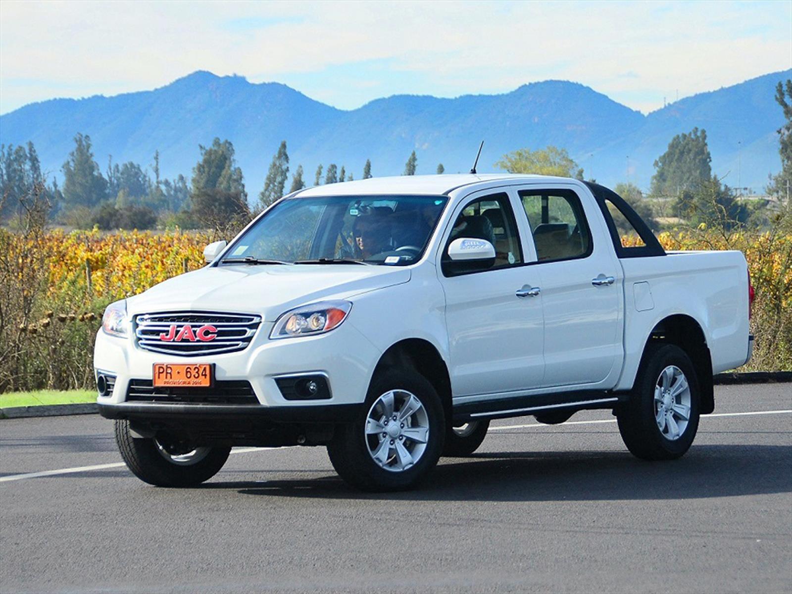 JAC estrena en Chile la camioneta T6 - Autocosmos.com