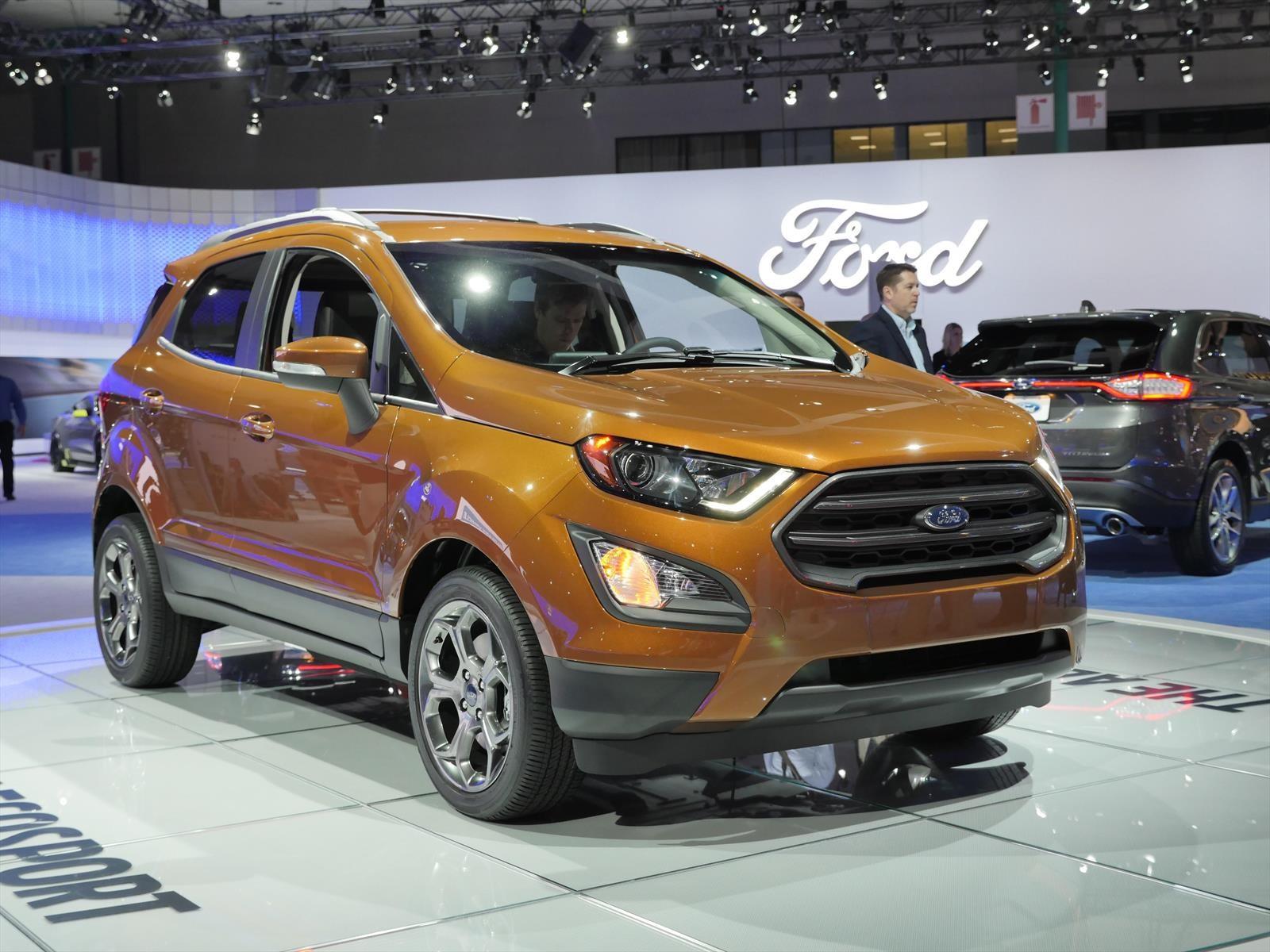 Auto Show de Los Ángeles 2016 - Ford Ecosport 2018, la ...