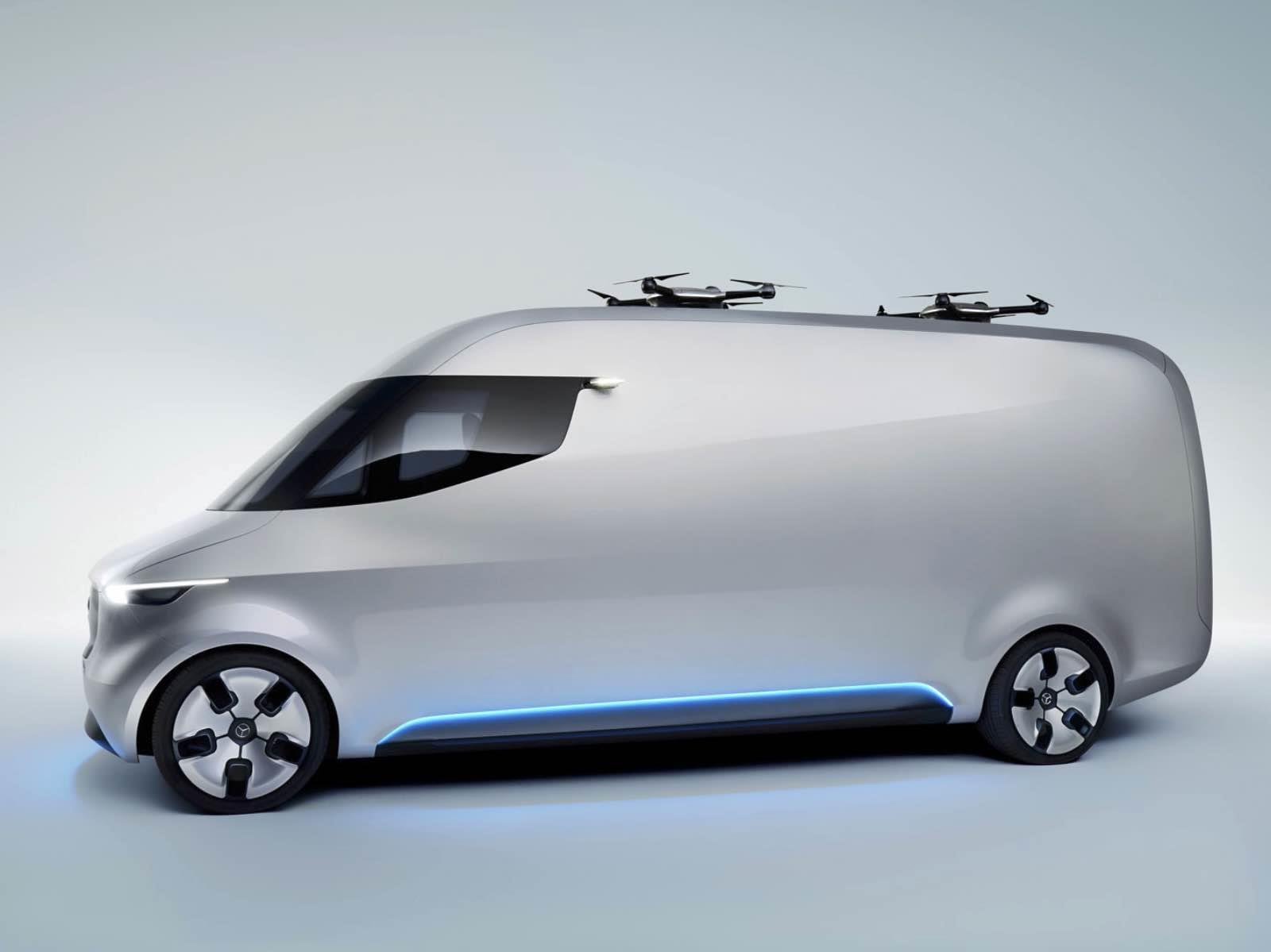 Mercedes Benz Vision Van Concept 2017 Autocosmos Com