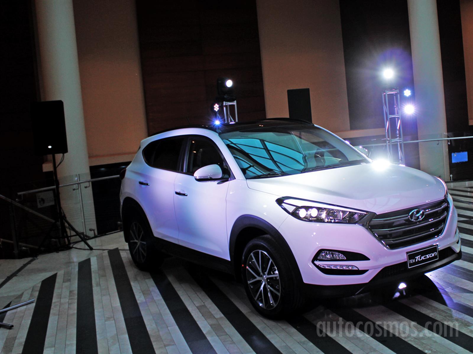 Nuevo Hyundai Tucson 2016 Se Estrena En Chile Primeros
