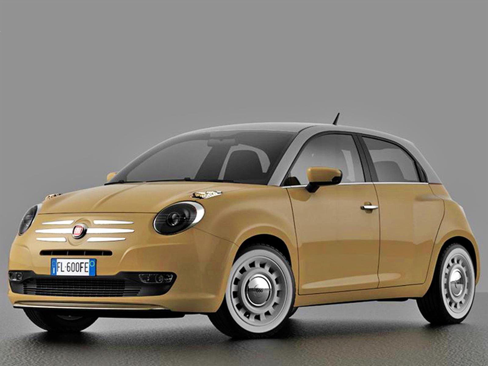 Fiat 600 Concept 2016 Para Celebrar 60 A 241 Os De Vida
