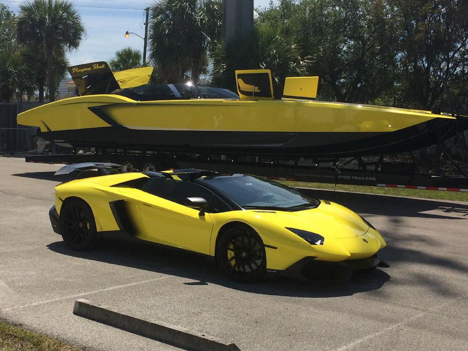Lancha Concebida Con Base En Lamborghini Con 2 700