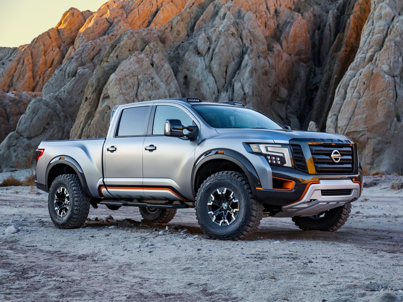 Autoshow de Detroit 2016 - Nissan Titan Warrior Concept ...