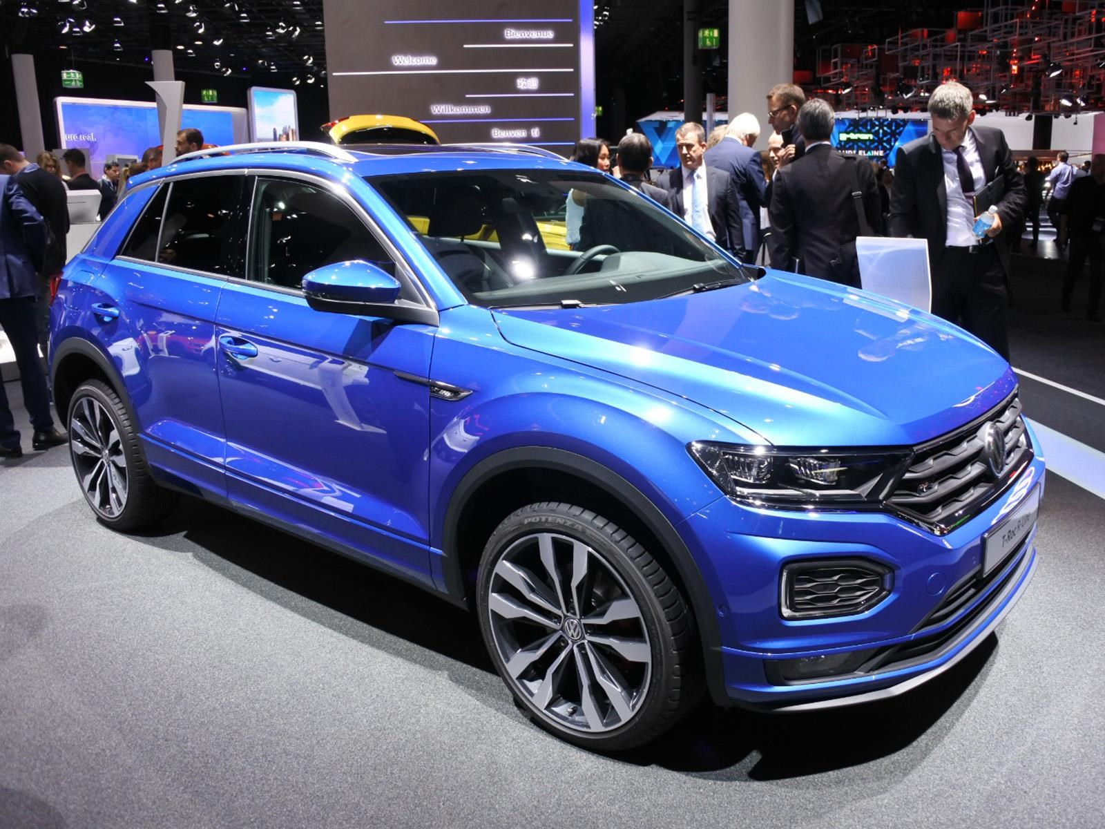 volkswagen t roc r line se presenta. Black Bedroom Furniture Sets. Home Design Ideas