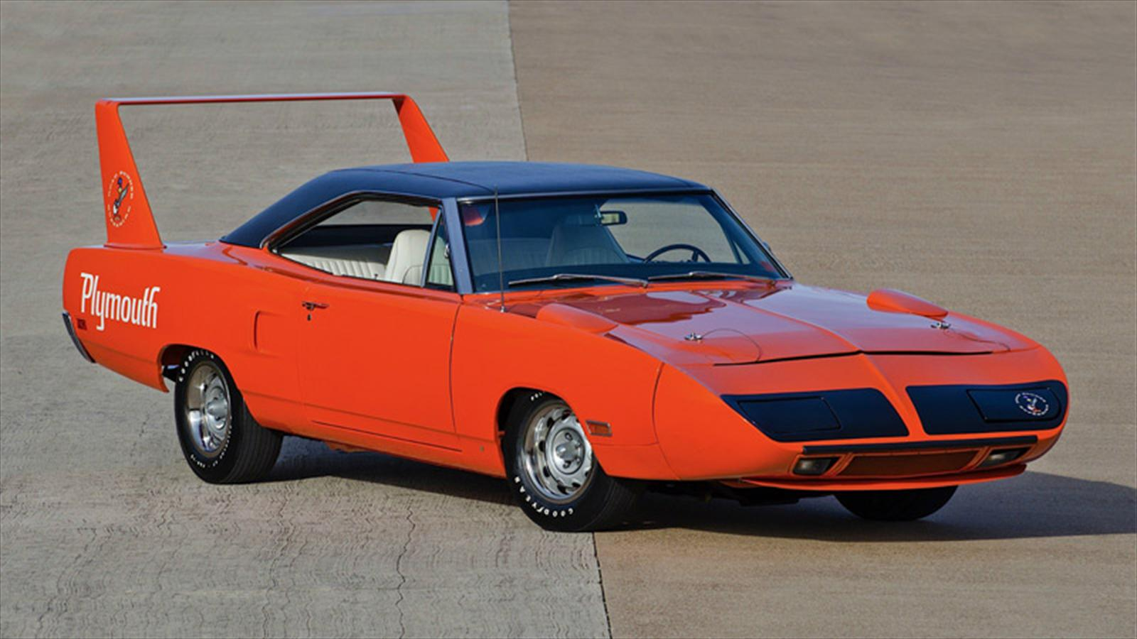 Top 10: Plymouth Roadrunner Superbird 1970 - Autocosmos.com