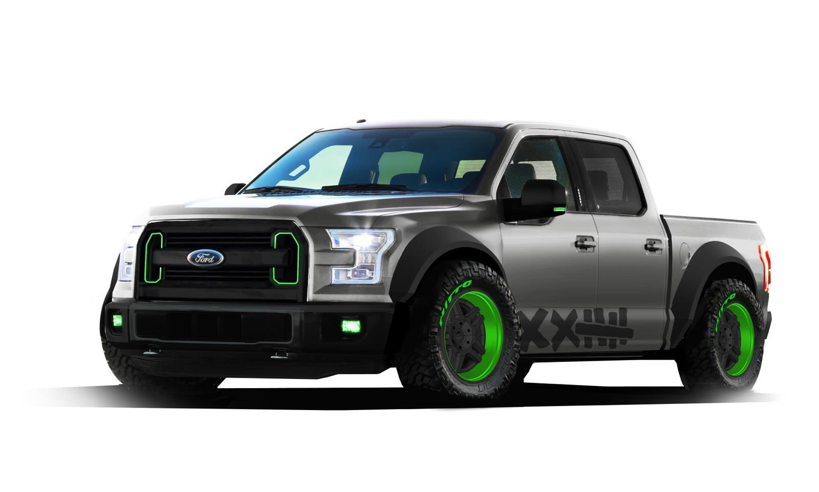 ford f 150 2015 quiere el premio hottest truck del sema show 2014. Black Bedroom Furniture Sets. Home Design Ideas