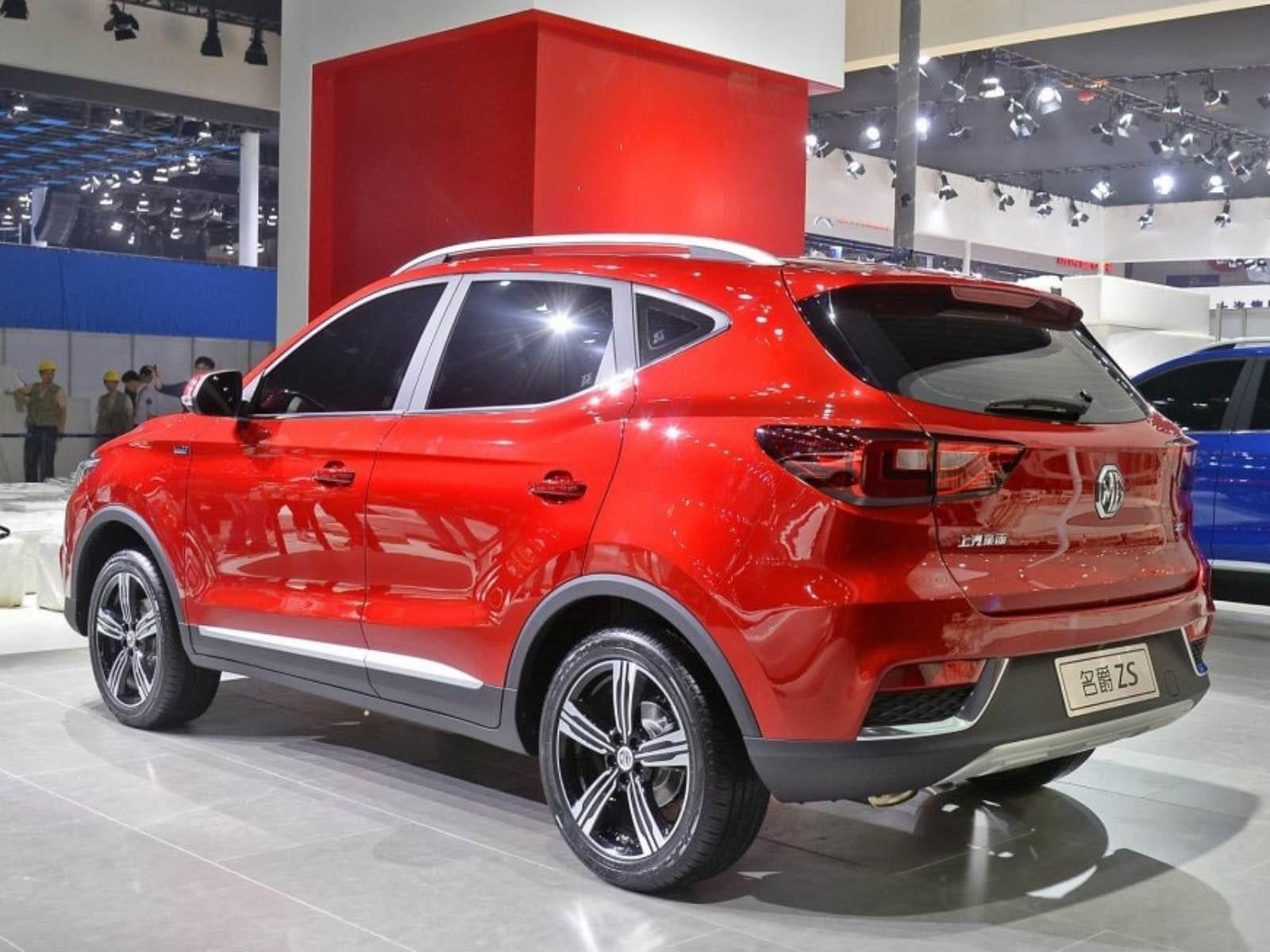 Mg zs 2018 se presenta en china for 1 costo del garage