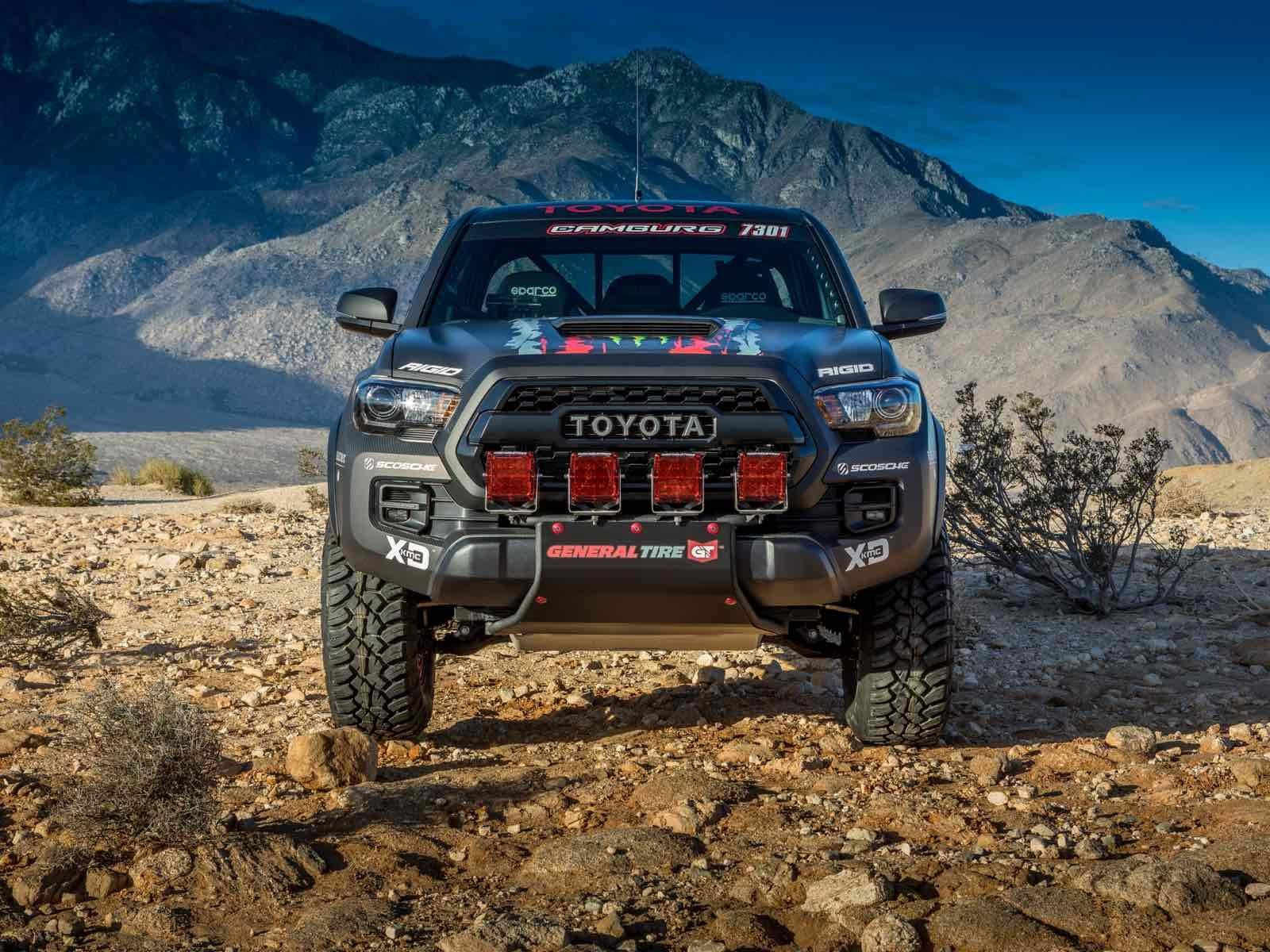 Toyota Tacoma Trd Pro Race Truck 100 Por Ciento Rudo