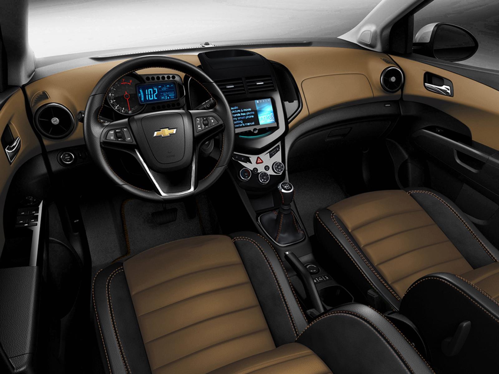 Salón de Los Ángeles 2013 - Chevrolet Sonic RS y Dusk ...