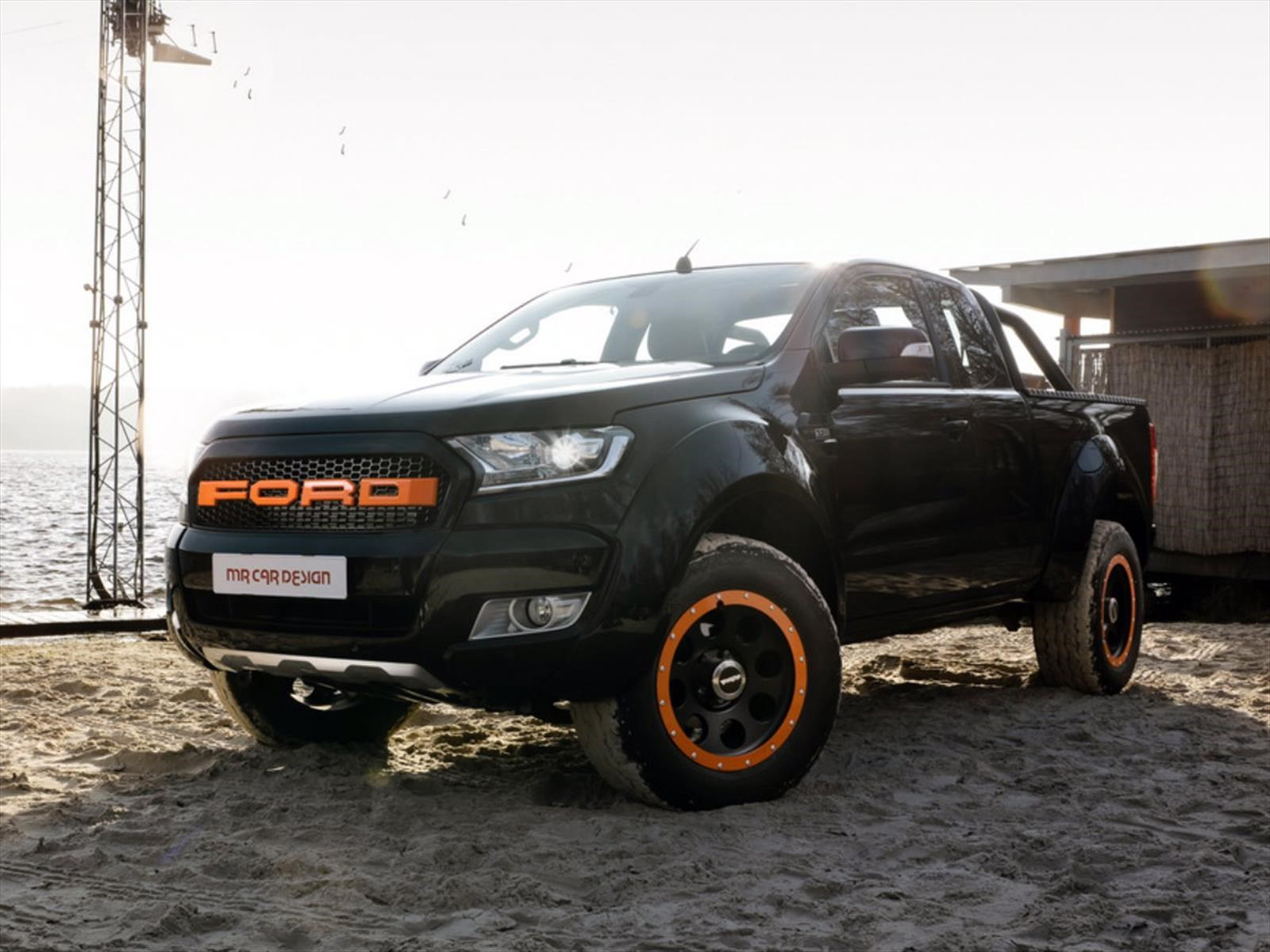 Ford Ranger Por Mr Car Design Todo El Sello Raptor