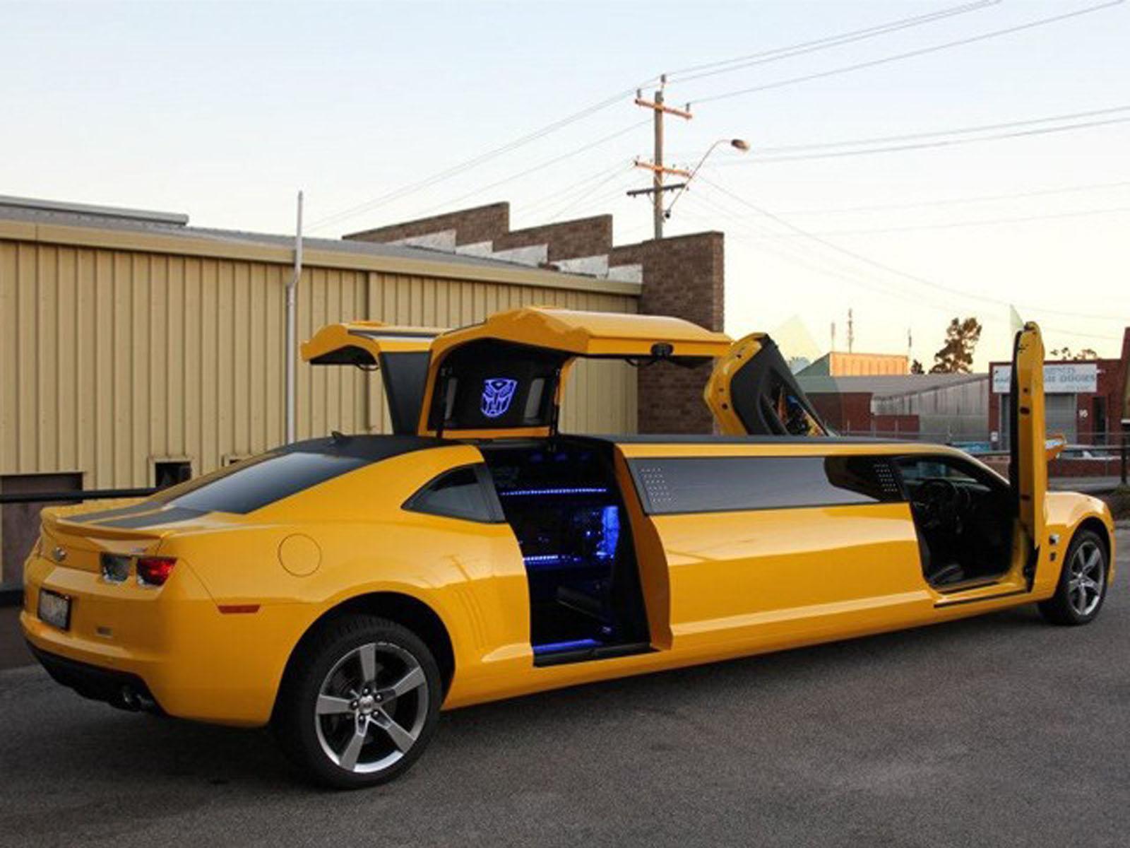 Chevrolet Camaro Transformers limusina - Autocosmos.com