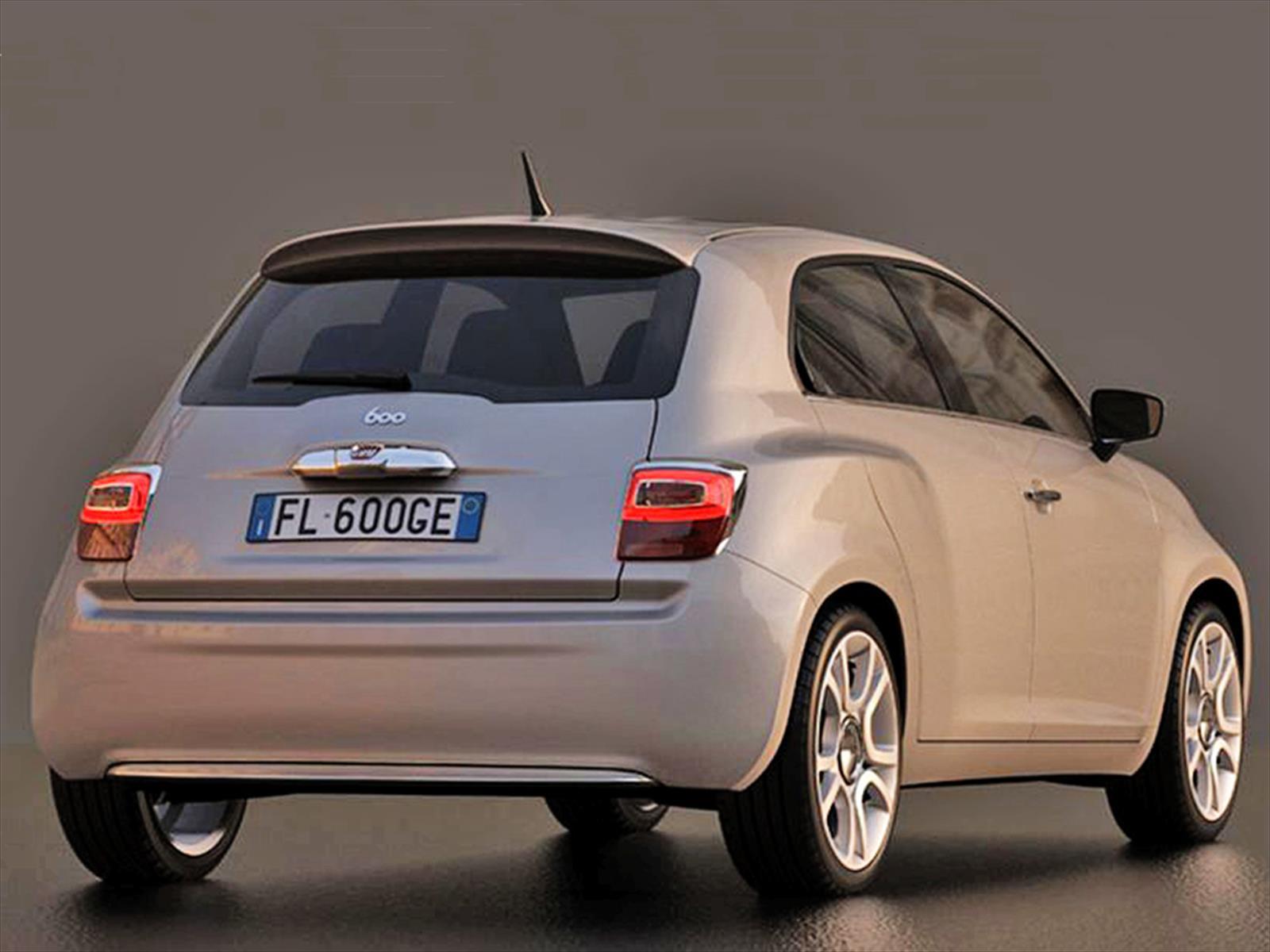 Fiat 600 Concept Festejando Los 60 A 241 Os De Vida