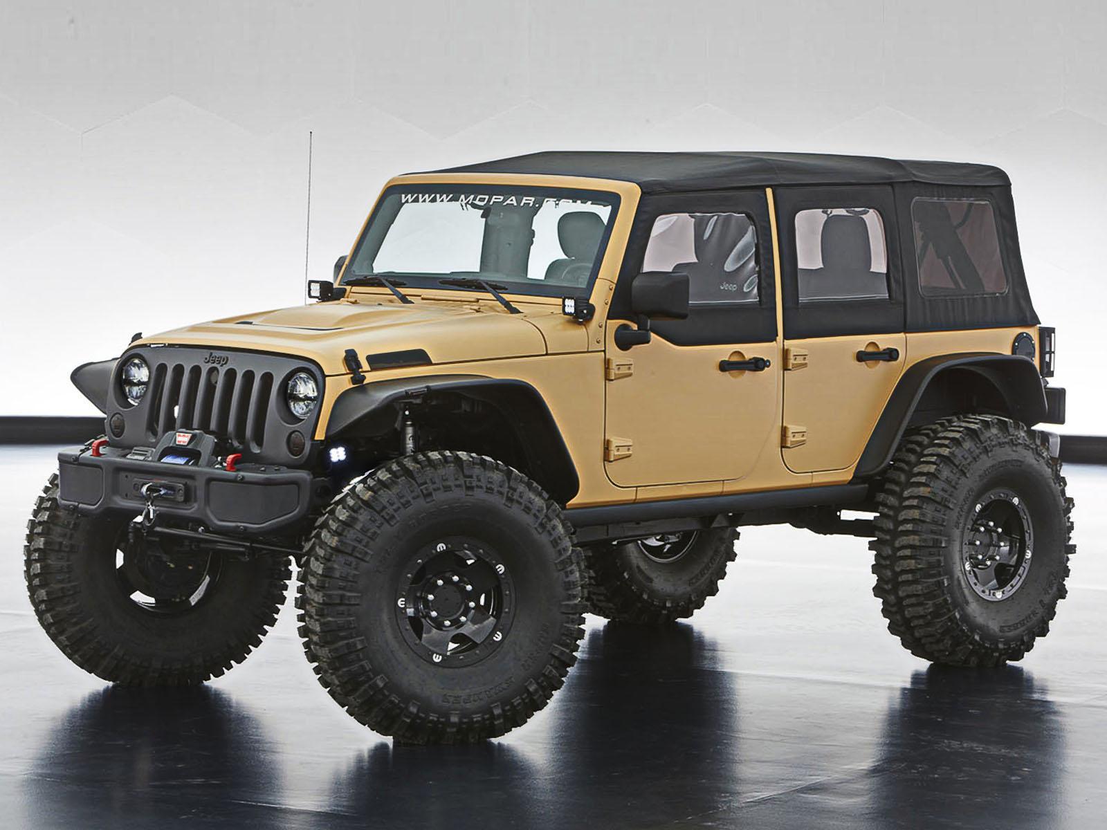 4x4 Jeep Presenta 6 Veh 237 Culos Modificados En El Desierto