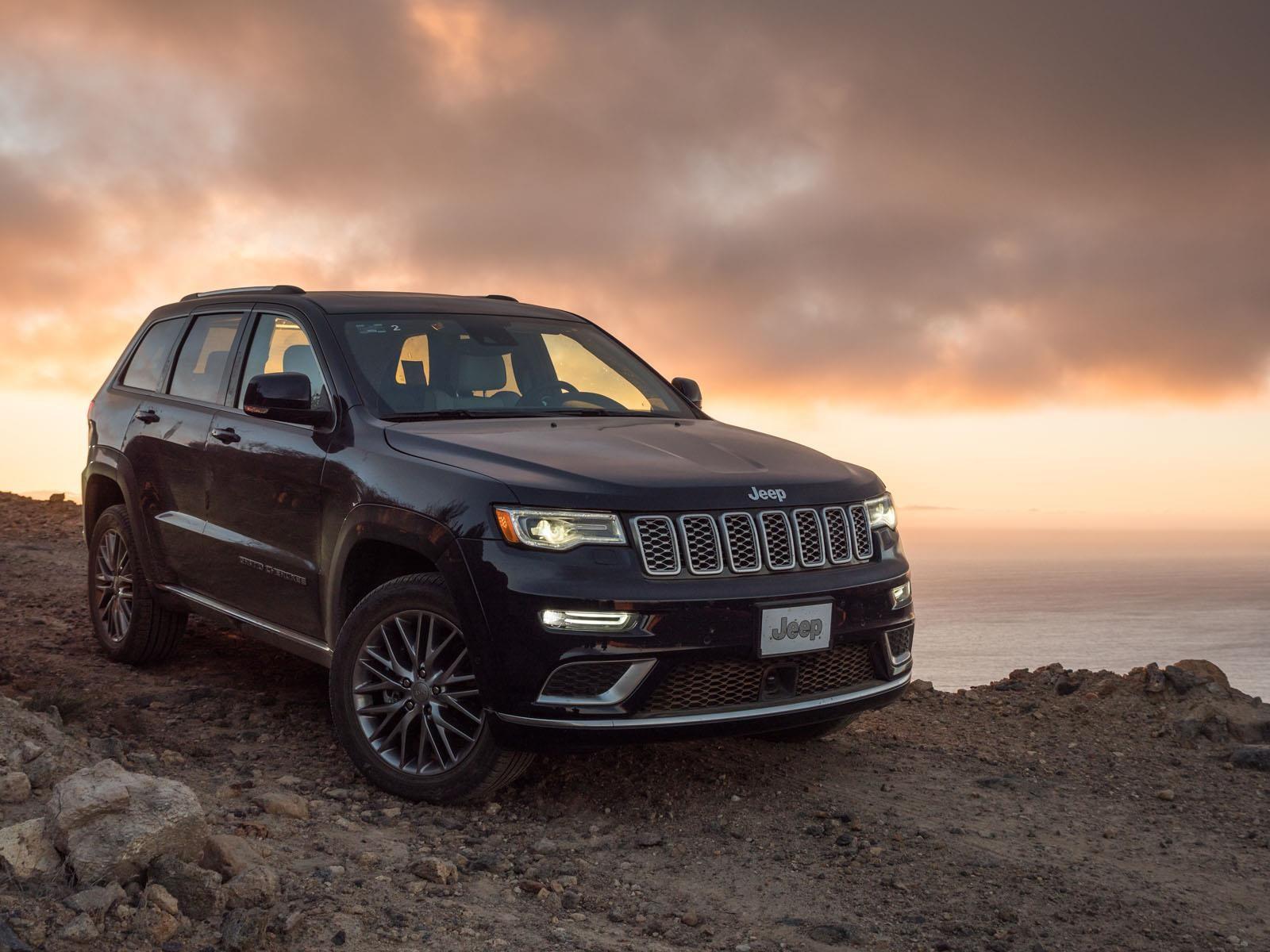jeep grand cherokee summit elite platinum 2017 a prueba. Black Bedroom Furniture Sets. Home Design Ideas