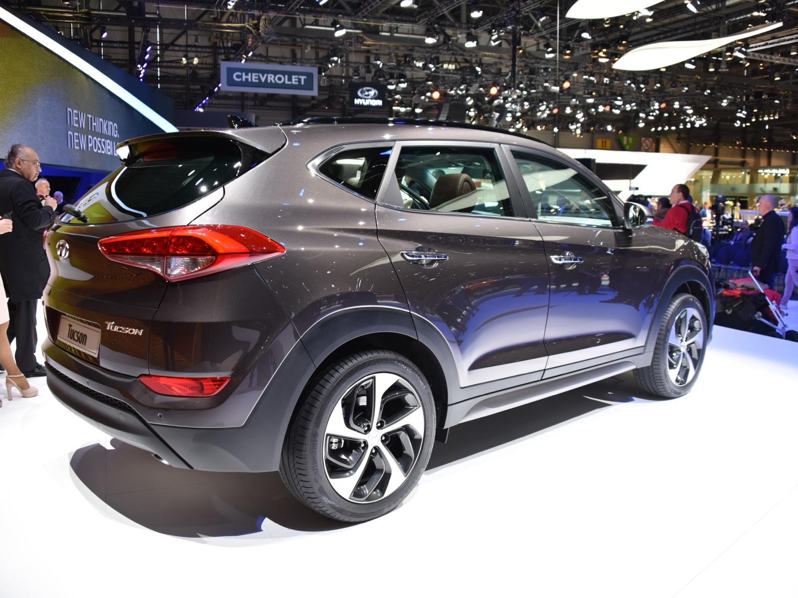 Colores Hyundai Tucson 2017 >> Autoshow de Ginebra 2015 - Hyundai Tucson 2016, luce más atractivo - Noticias, novedades y ...