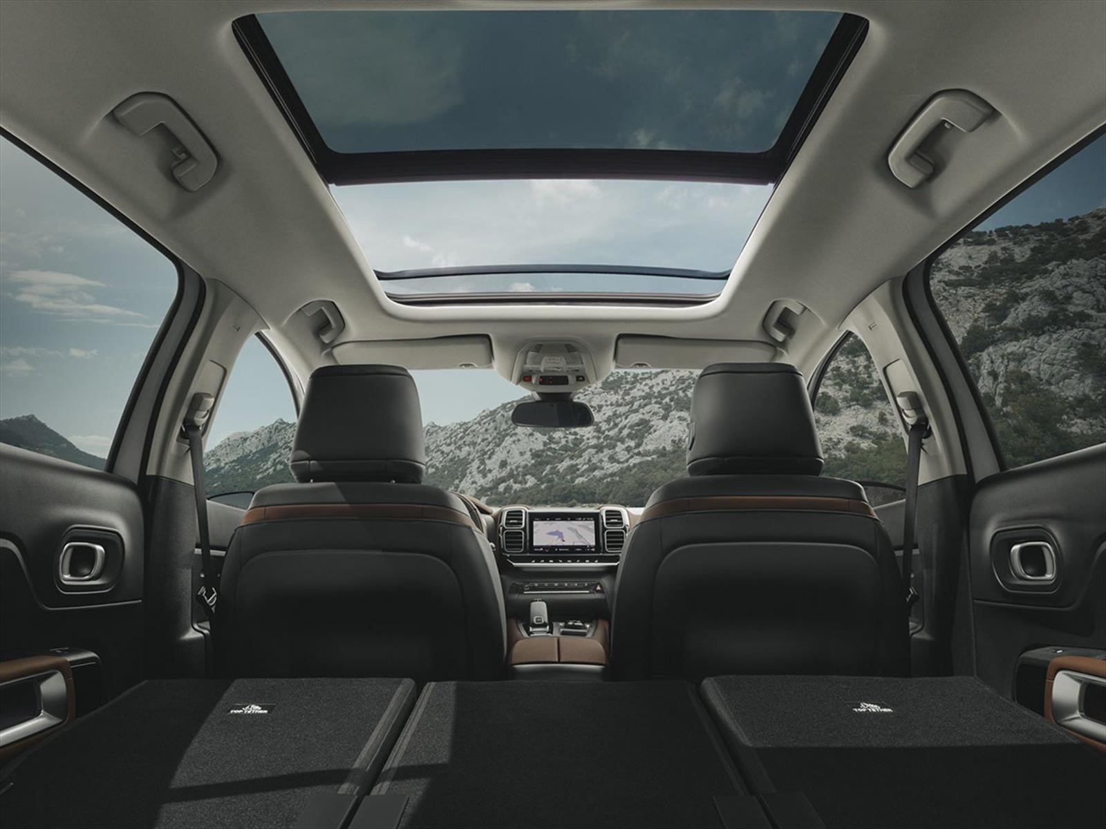 citroen c5 aircross 2019 un suv muy c modo. Black Bedroom Furniture Sets. Home Design Ideas