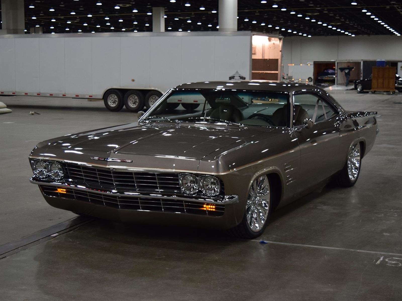 un chevrolet impala 1965 con alma de corvette el mejor