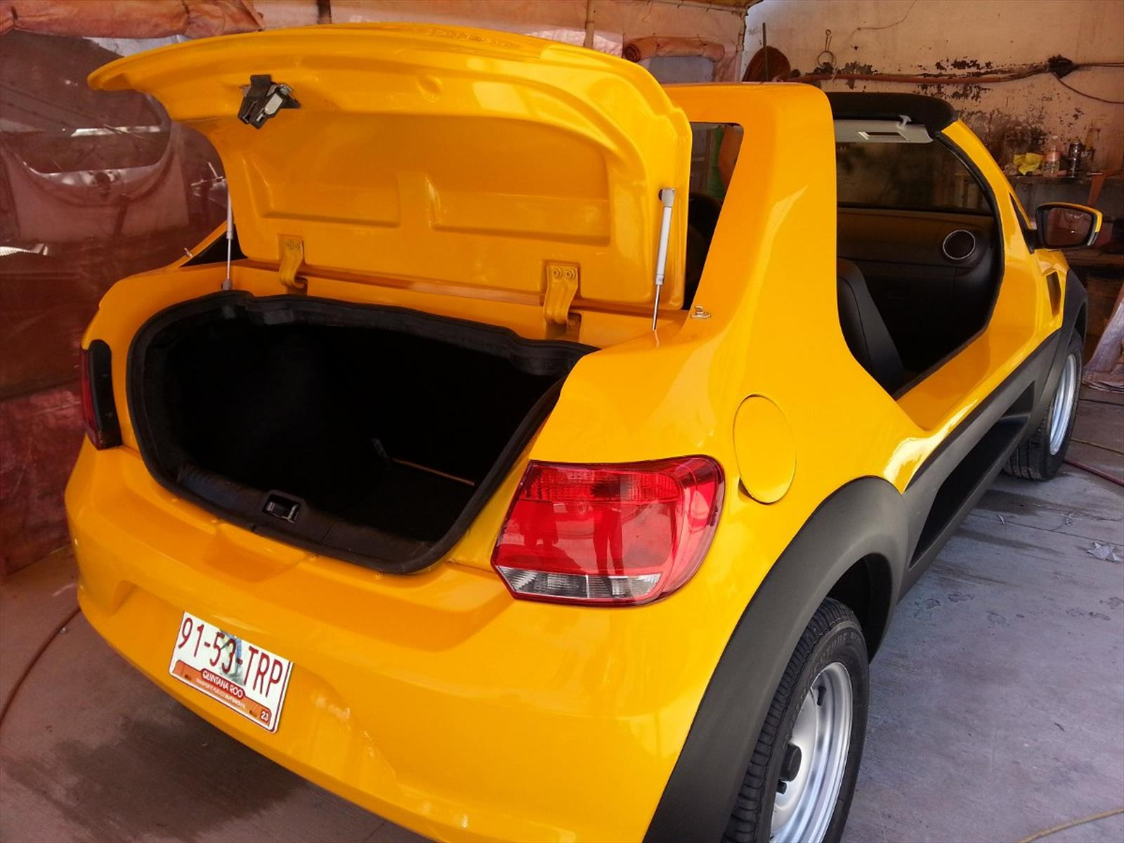 En México transforman al Volkswagen Gol Trend en un Buggy ...