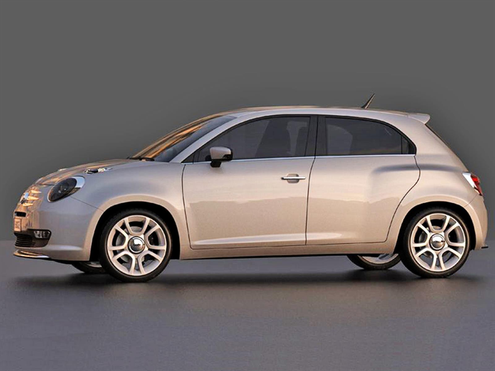 Fiat 600 2016 Concept Autocosmos Com