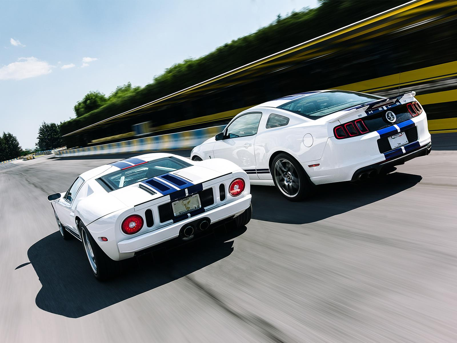Comparativa Ford Mustang Shelby Gt500 Vs Ford Gt