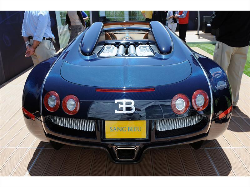 Bugatti Veyron Grand Sport Sang Bleu