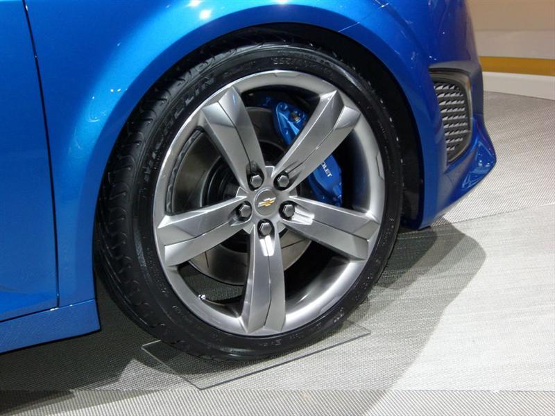 Chevrolet Aveo RS Concept en Detroit 2010