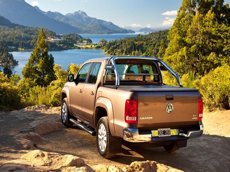 Volkswagen Amarok en Bariloche