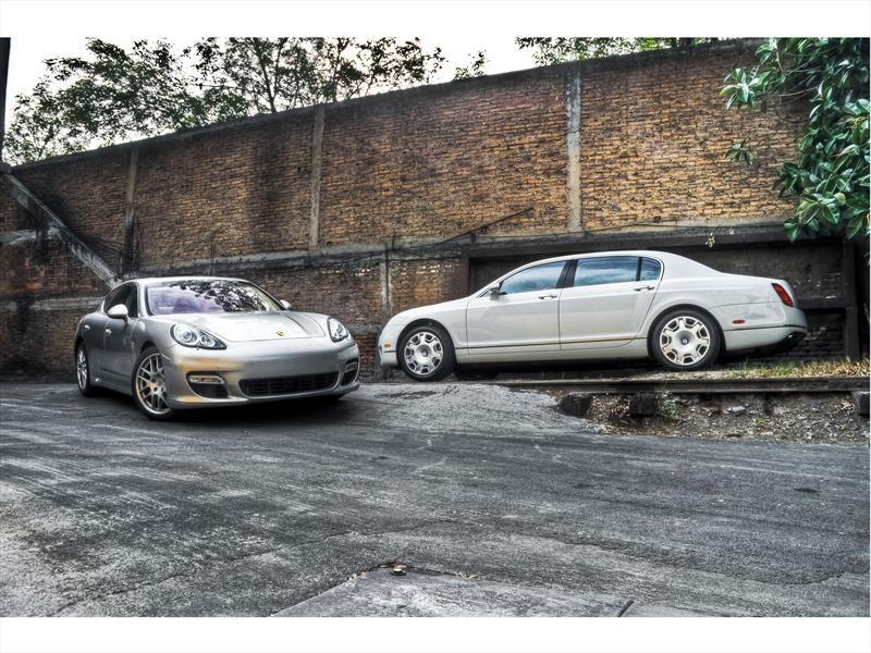 Porsche Panamera VS Bentley Flying Spur
