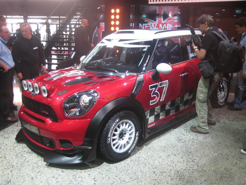 Mini Countryman WRC en París 2010