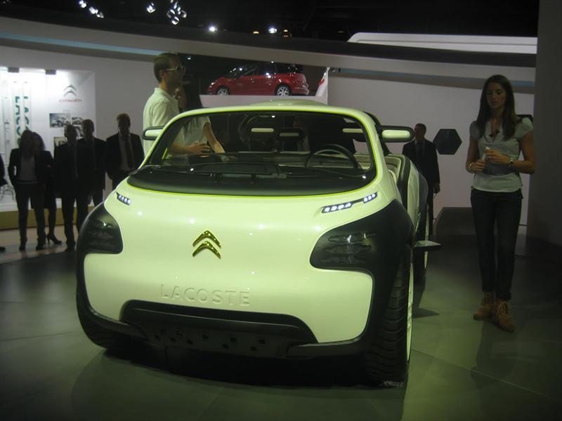 Citroën Lacoste Concept en París 2010