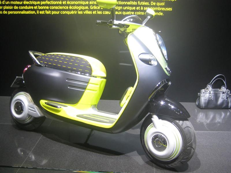 Mini Scooter E Concept En Pars 2010 Autocosmos