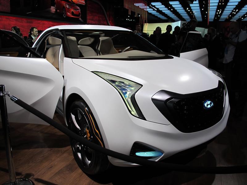 Hyundai Curb Concept en el Salón de Detroit 2011