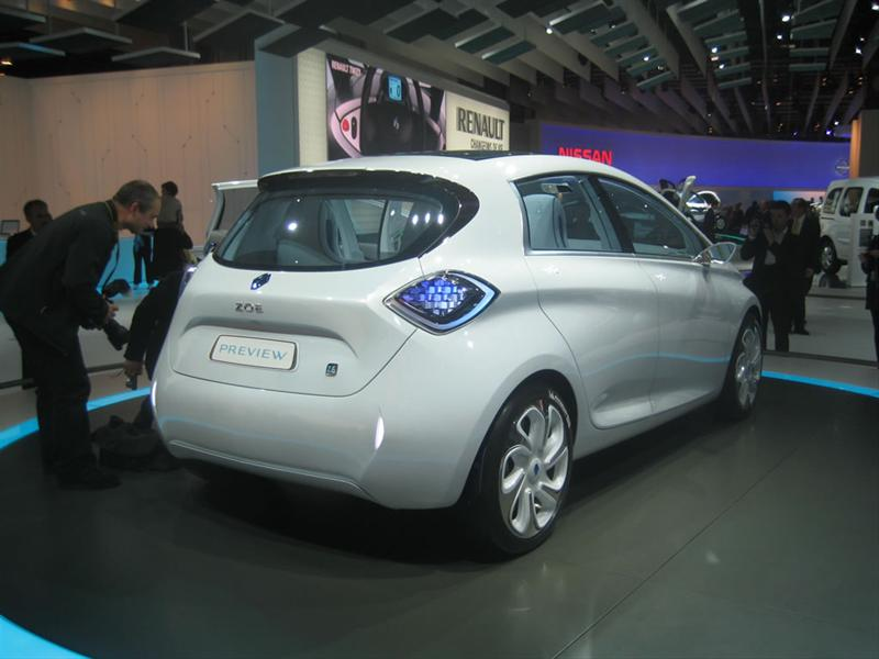 Renault ZOE Concept en París 2010