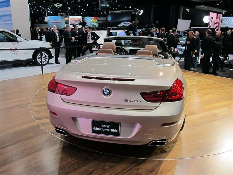 BMW Serie 6 Cabrio en el Salón de Detroit 2011