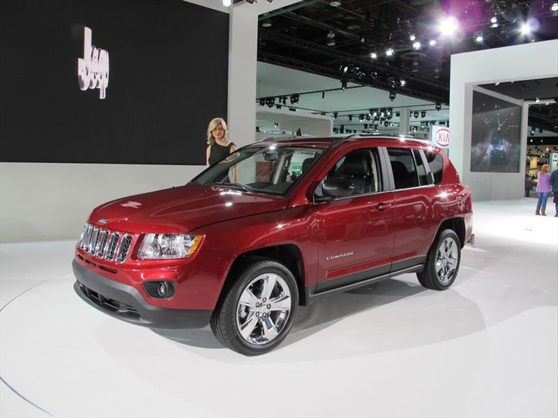 Jeep Compass 2012 en el Salón de Detroit 2011