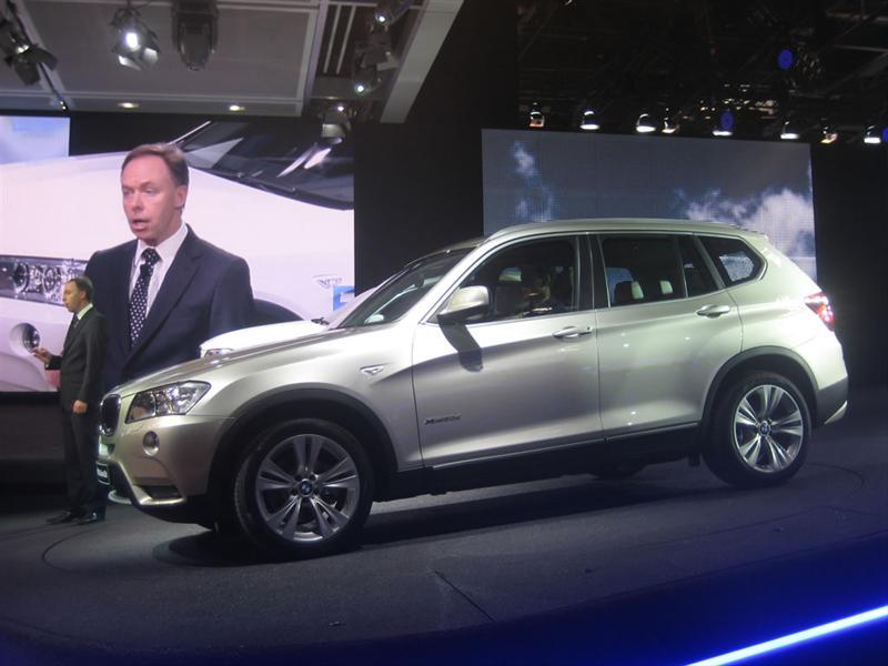BMW X3 2011 en el Salón de París 2010