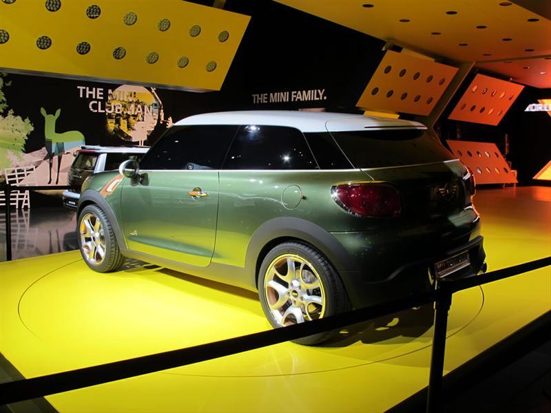 Mini Paceman Concept en Detroit 2011