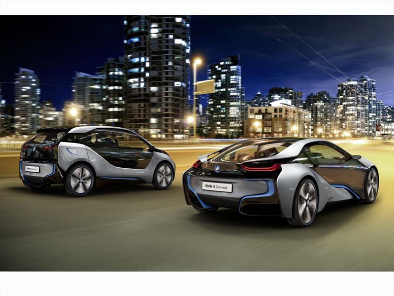 BMW i3 e i8 juntos en 2013