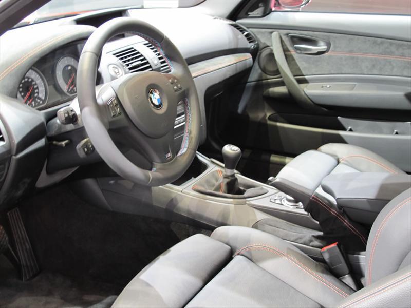 BMW Serie 1 M Coupé en el Salón de Detroit 2011