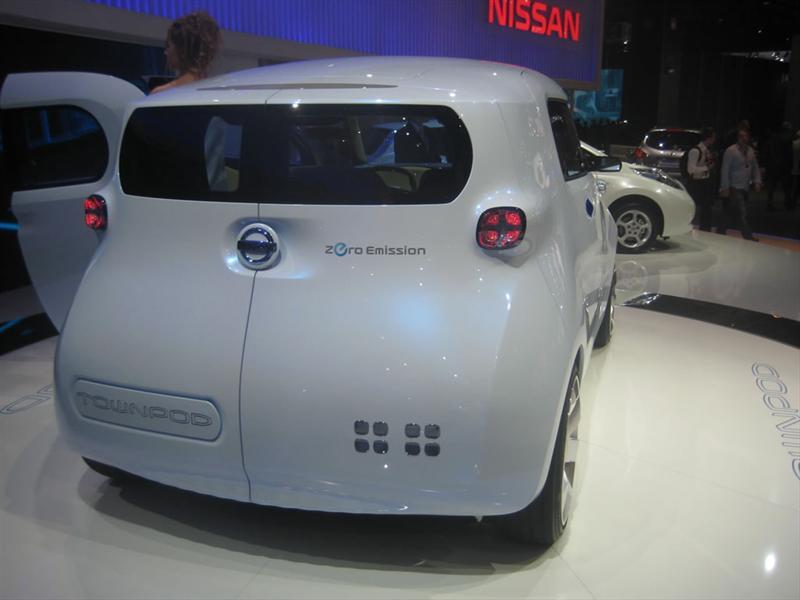 Nissan TownPod Concept en París 2010