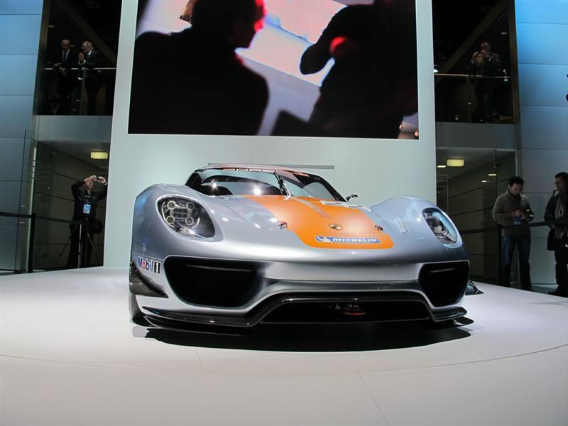 Porsche 918 RSR en el Salón de Detroit 2011
