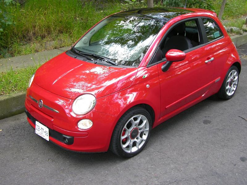 Fiat 500 a prueba