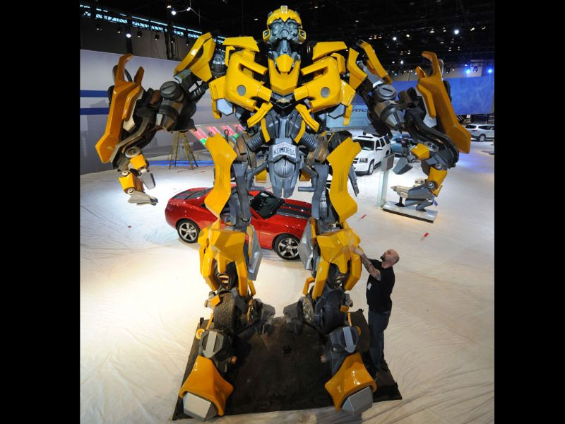 GM y Transformers en Chicago
